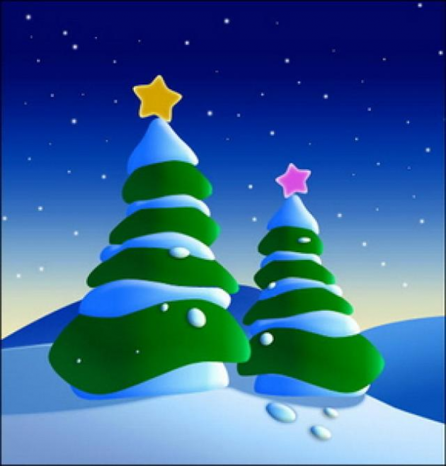 Christmas is on the 25th of December)