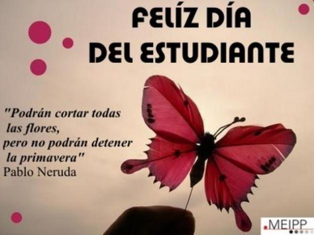 Dia do estudante ou primavera (21 de setembro)