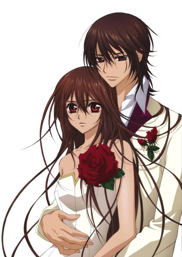 Kaname y Yuuki ( Vampire Knight)