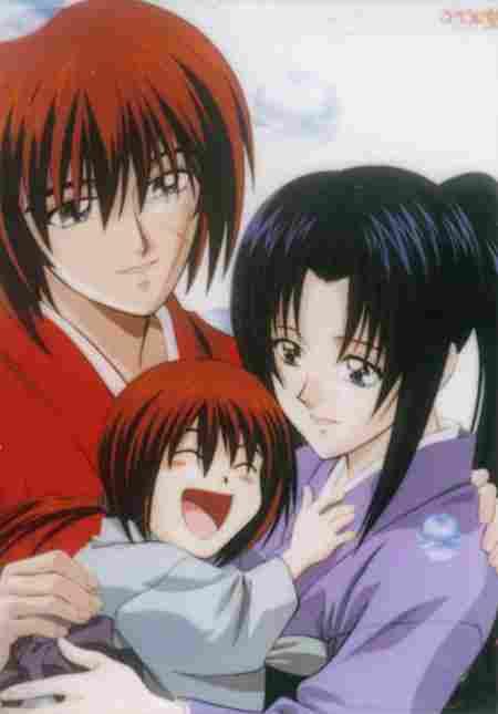 Kenshi y Kaouru (Samurai X o Rurouni Kenshin)