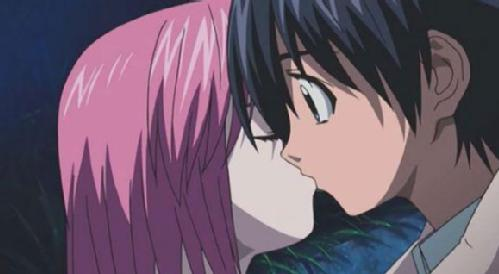 Lucy and Kouta (Elfen Lied)