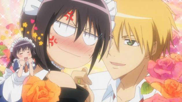 Misaki and Usui (Kaichou Wa Maid-Sama)