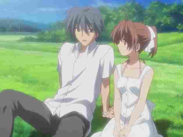 Nagisa y Tomoya ( Clannad)