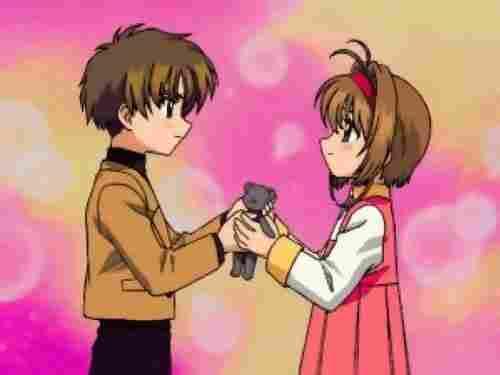 Sakura y Shaoran ( Sakura Card Captor)