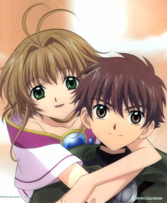 Sakura y Syaoran ( Tsubasa Reservoir Chronicles)