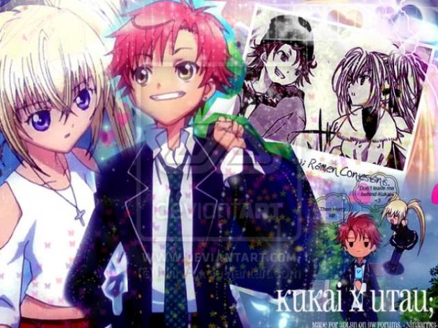 Utau and Kukai (Shugo Chara)