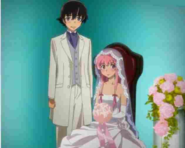 Yuno y Yukiteru ( Mirai Nikki)