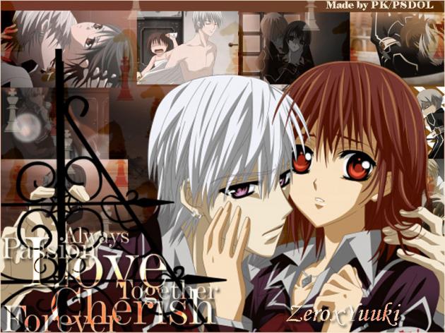 Zero and Yuuki (Vampire Knight)