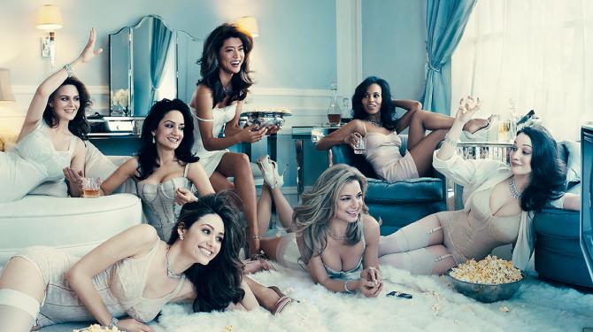 As melhores atrizes da série