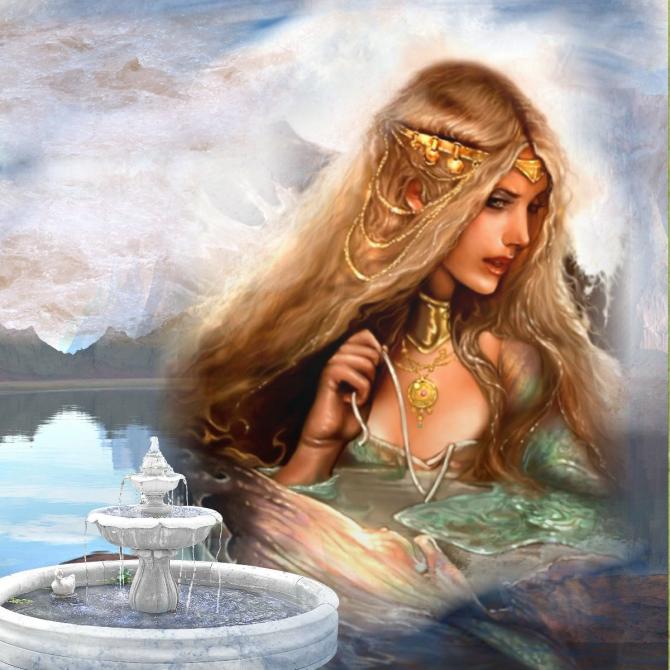 Тетис, титаническая богиня морей