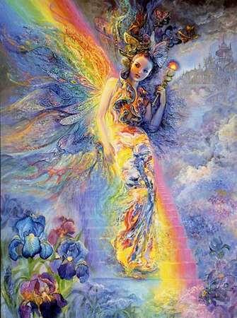 Ирис, богиня радуги