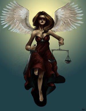 Фемида, титаническая богиня правосудия