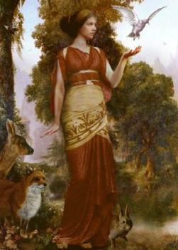Персефона, богиня весны