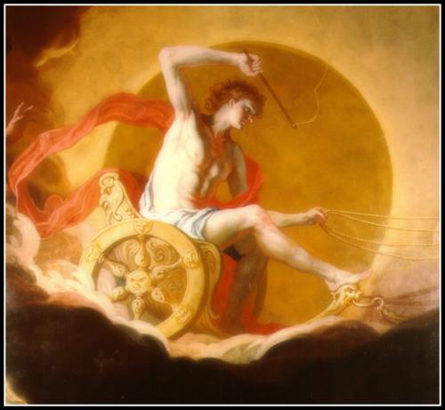 Гелий, бог солнца