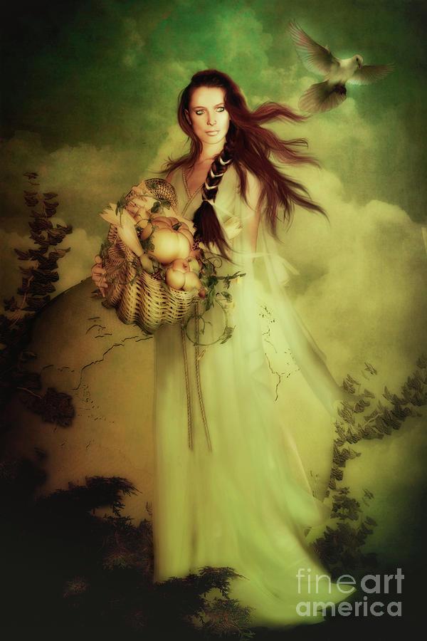 Деметра, олимпийская богиня земледелия