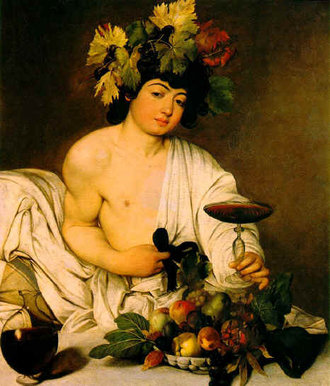 Дионис, олимпийский бог вина