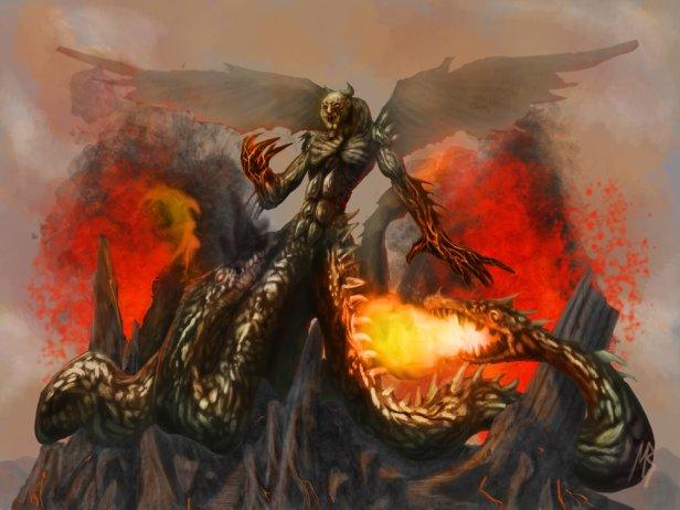 Тайфун, титановый бог штормов