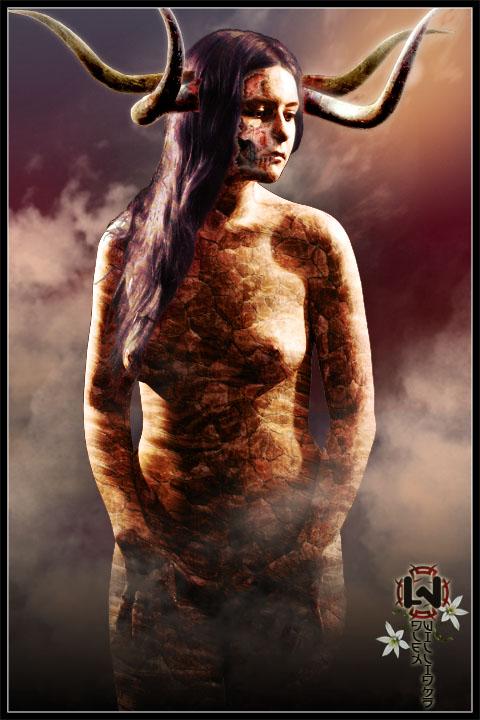 Оиз, богиня страданий даймонида