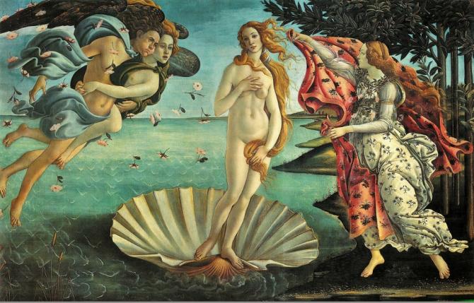 Aphrodite, Olympic goddess of beauty