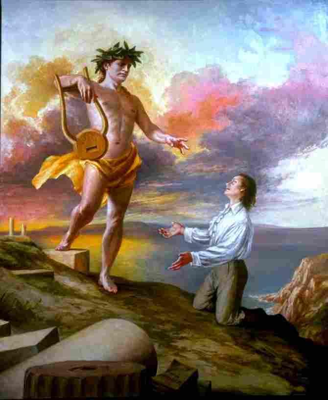 Apollo, Olympic god of the arts