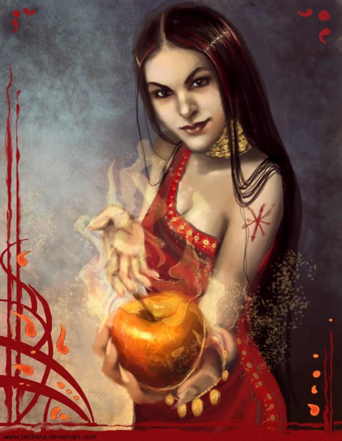 Eris, daimónide goddess of discord