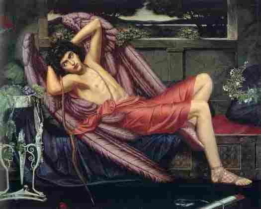 Eros, god erote of love