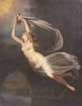 Febe, titanic goddess of intellect