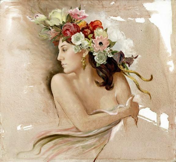Filotes, daimónide goddess of affection