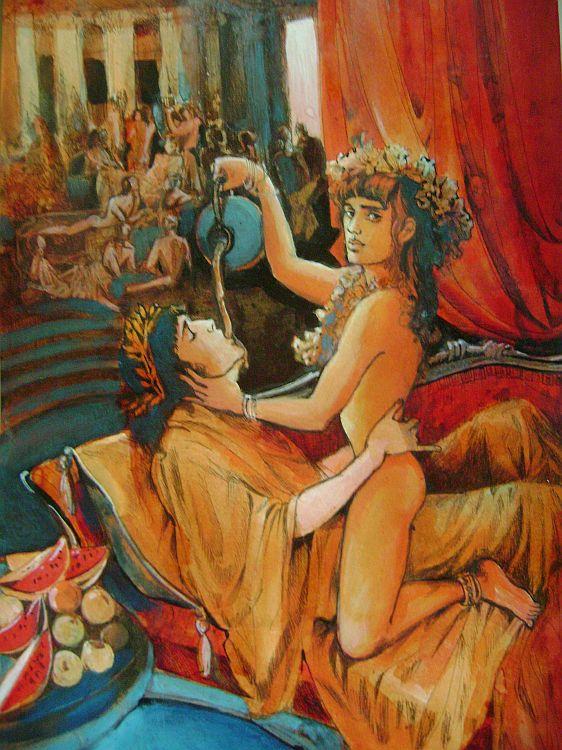 Ganymede, erote god of homosexual love