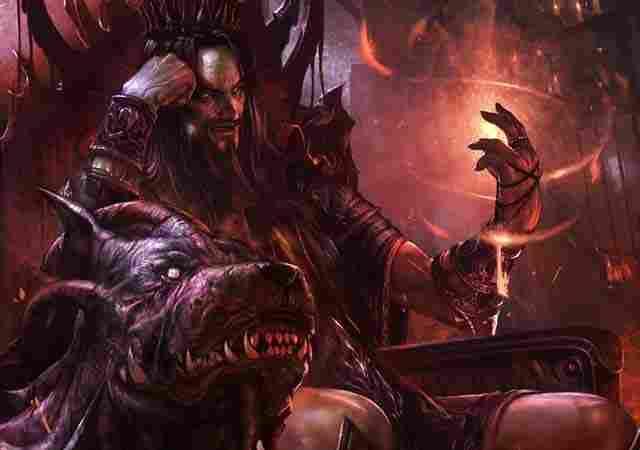 Hades, olympic god of the underworld