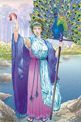 Hera, Olympic goddess of marriage