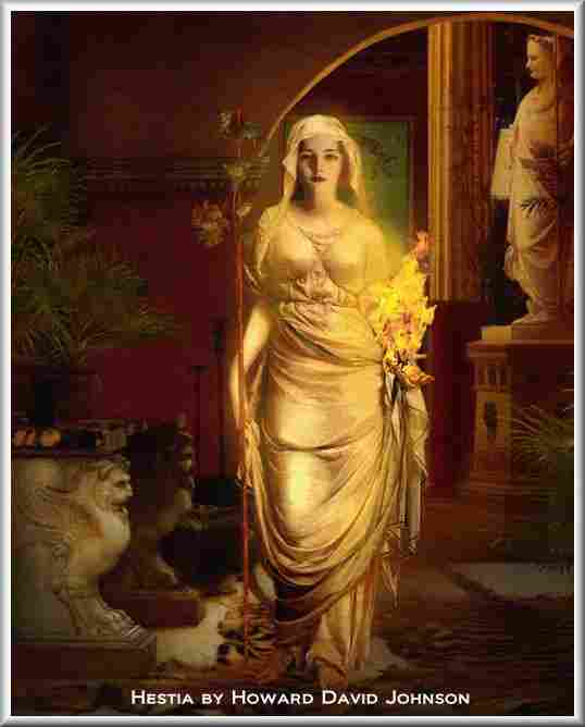 Hestia, Olympic goddess of home
