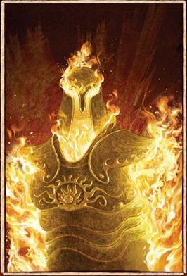 Hyperion, titan god of the sun