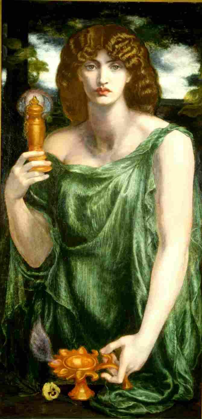 Mnemósine, titanic goddess of memory