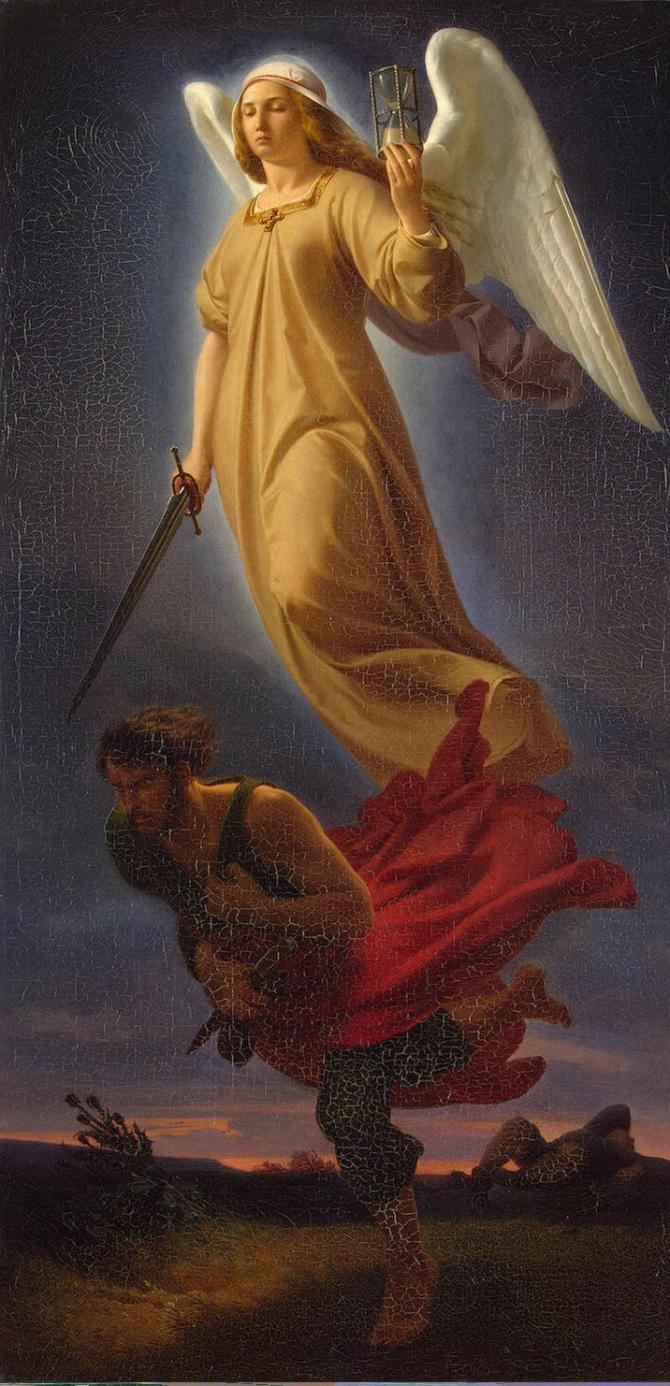 Nemesis, daimónide goddess of revenge
