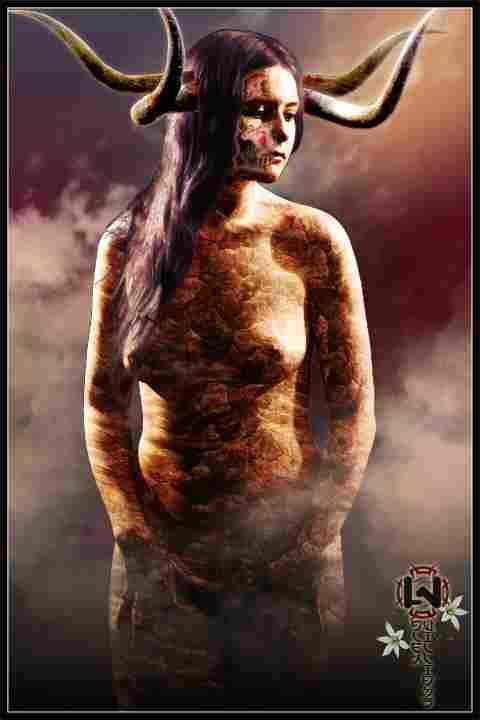 Oizís, daimónide goddess of anguish