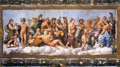 Os deuses gregos