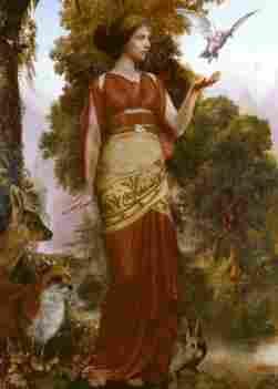 Persephone, goddess of spring