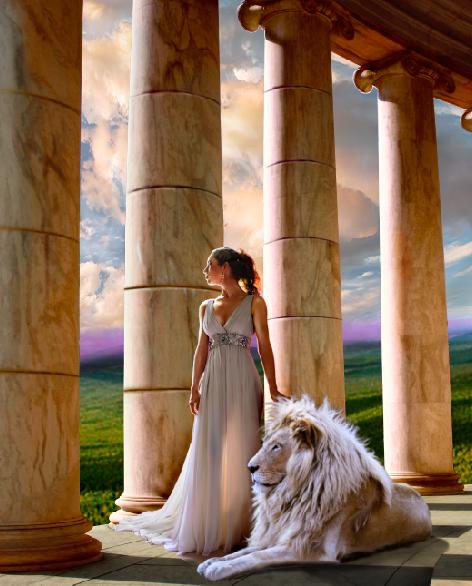 Rhea, titanic goddess of motherhood