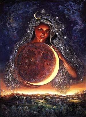 Selene, goddess of the moon