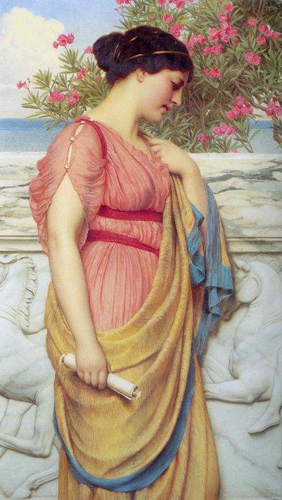Tea, titanic goddess of vision