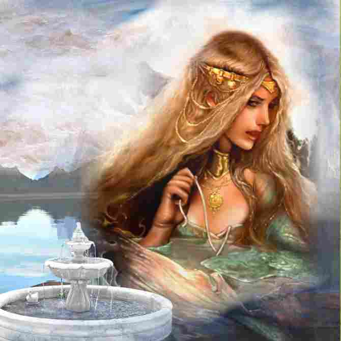 Thetis, titanic goddess of the seas