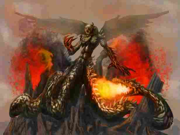 Typhoon, titan god of storms