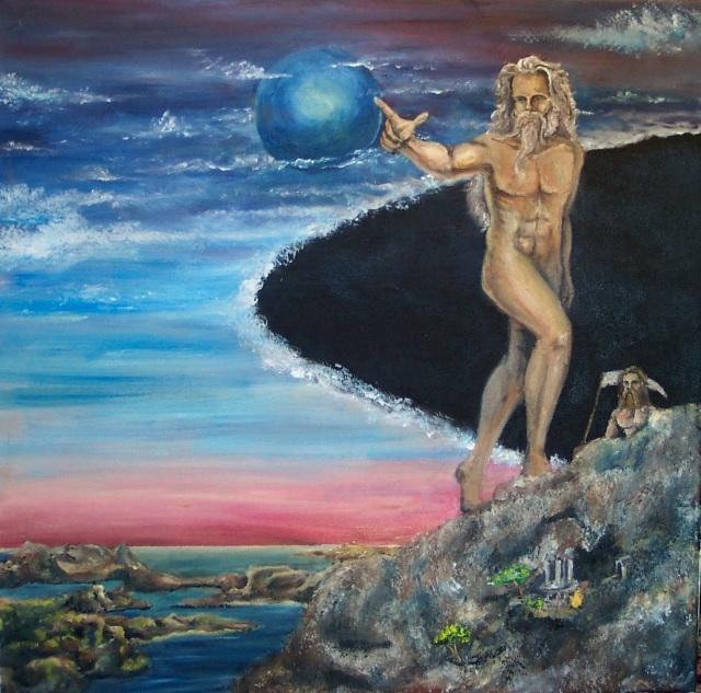 Uranus, the sky