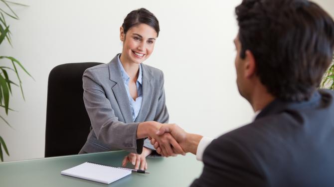 Huvudfel i en jobbintervju
