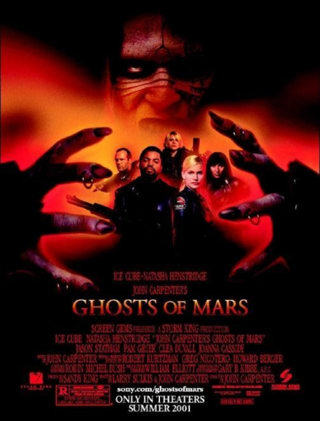 Fantasmas de Marte de John Carpenter (2001)