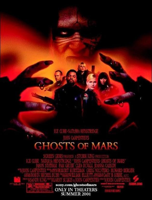 Fantasmas de Marte por John Carpenter (2001)