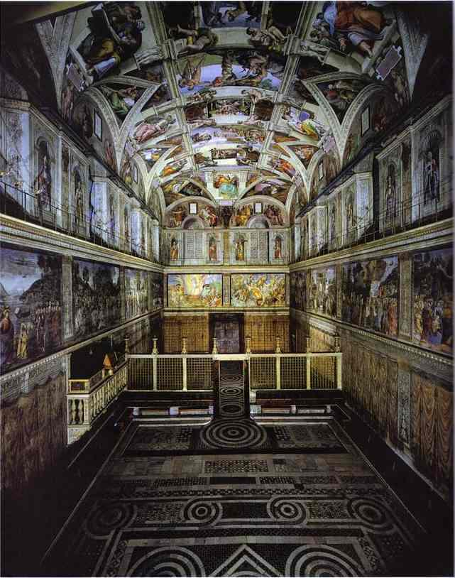 Сикстинская капелла (Италия)