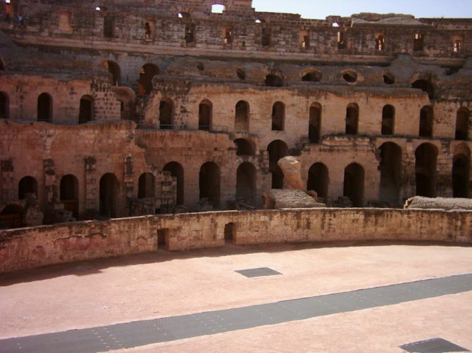 Эль Джем Колизей (Тунис)