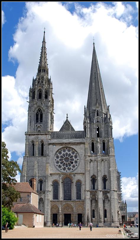 Шартрский собор (Франция)